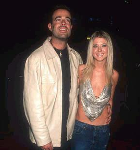 An adorable pic of Carson and his ex-fiancee Tara Reid (actress)! *Quick Fact* After setting a date for their wedding, Carson and Tara broke it off and eventually broke up!
