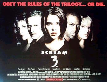 "The ""Scream 3"" Movie Poster!!"